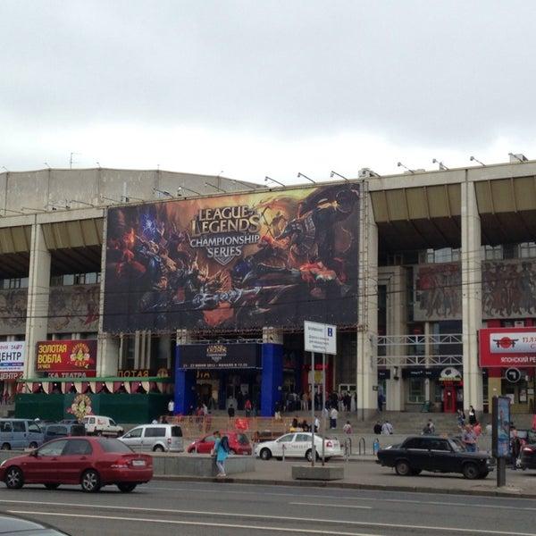 Photo taken at Московский дворец молодежи by Jacob M. on 6/22/2013
