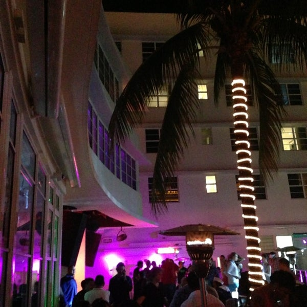 Photo taken at Clevelander by YanYan L. on 2/17/2013