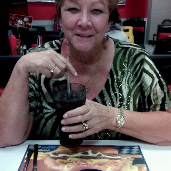 Photo taken at Steak 'n Shake by Larry J. on 9/11/2013