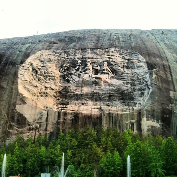 Stone mountain park in