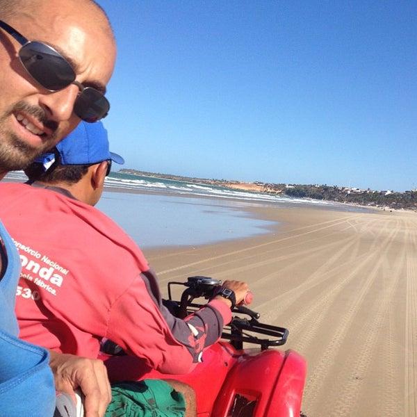 Photo taken at Lagoinha Kite Point by Sandro M. on 12/7/2012