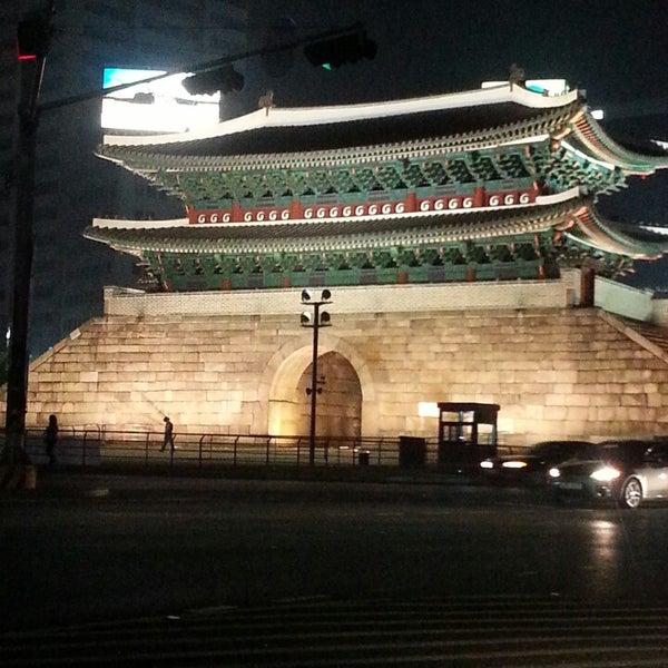 Photo taken at 숭례문 (崇禮門, Sungnyemun) by Rick Changwon Y. on 5/4/2013