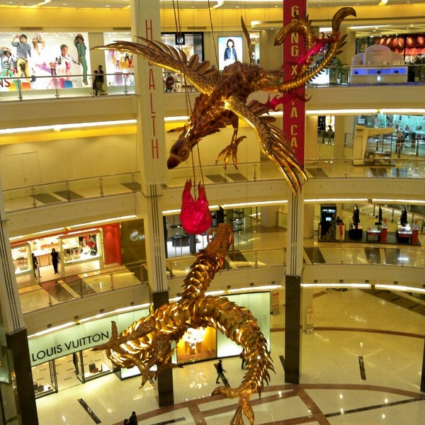 Photo taken at Pacific Place by ibu k. on 2/23/2013