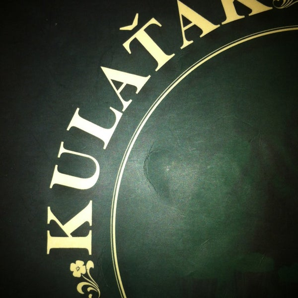 Photo taken at Kulaťák (Pilsner Urquell Original Restaurant) by Viktoriya S. on 3/14/2013