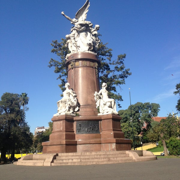 Photo taken at Plaza Francia by Liliana O. on 5/11/2013