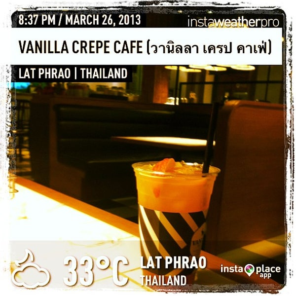 Photo taken at Vanilla Crepe Cafe by Notochan on 3/26/2013