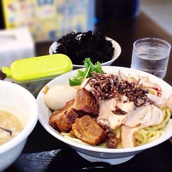 Photo taken at 手打ち麺処 暁天 by ytk_ on 6/19/2014