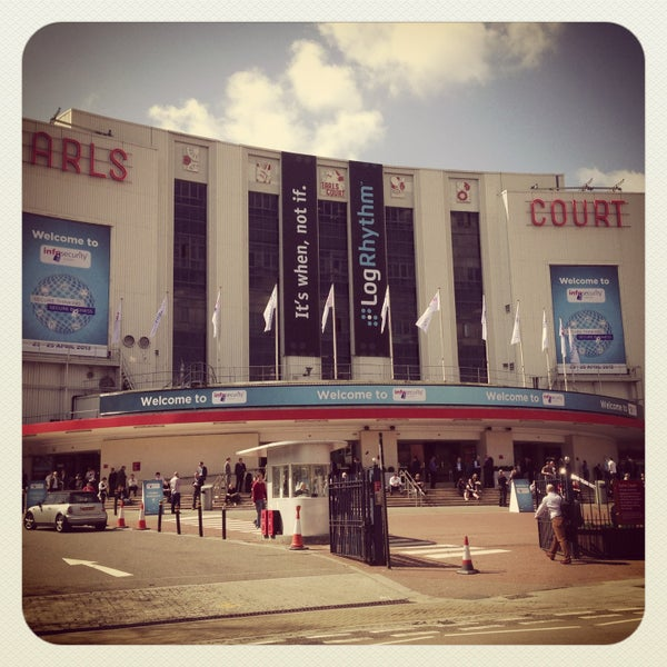 Photo taken at Earls Court Exhibition Centre by rob k. on 4/23/2013