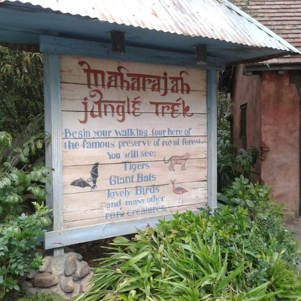 Photo taken at Maharajah Jungle Trek by Thomas E. on 3/19/2013
