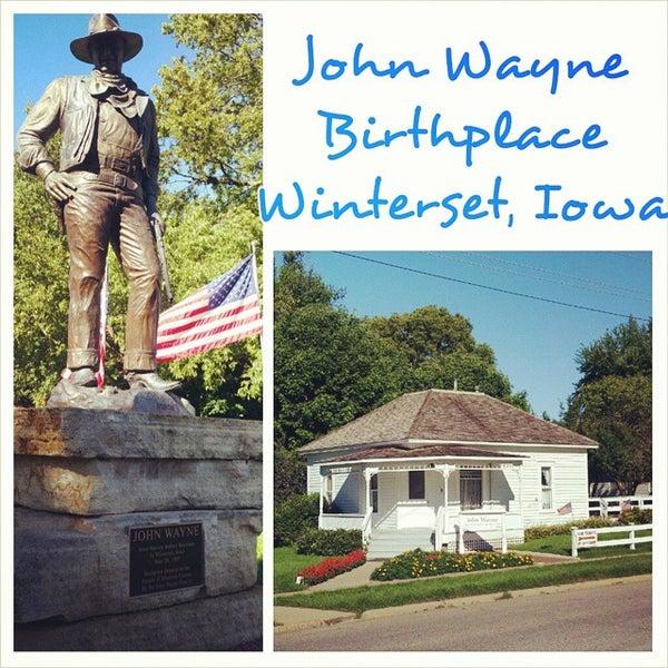 Photo taken at John Wayne Birthplace Museum by Jody on 9/2/2014