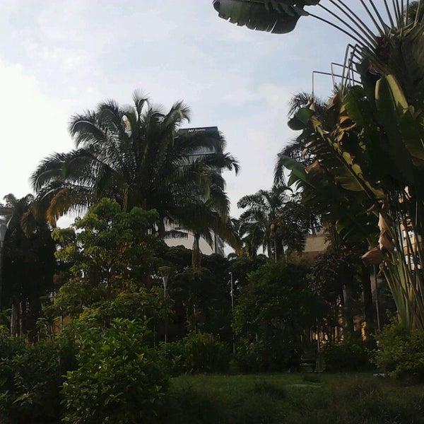 Photo taken at Parque Las Palmas by Brayan A. on 3/20/2013