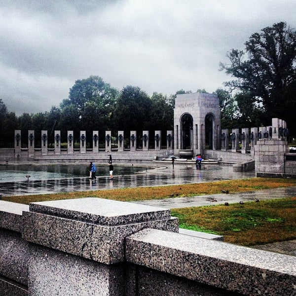 Photo taken at World War II Memorial by Terry L. on 10/11/2013
