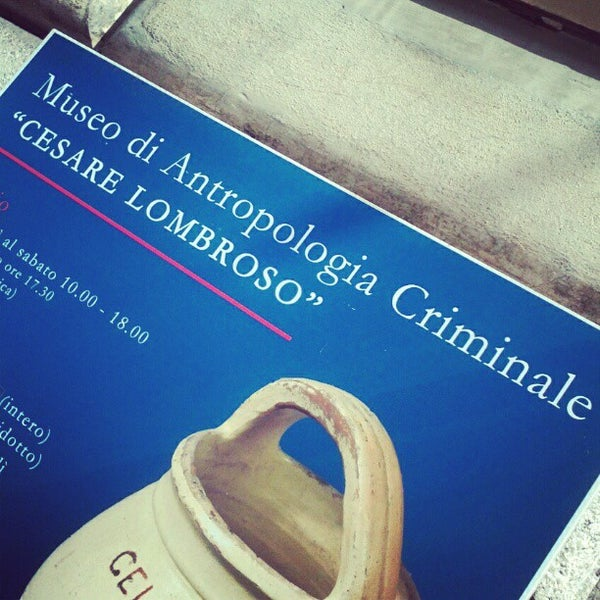 Cesare Lombroso was an Italian criminologist who in 1876 ...