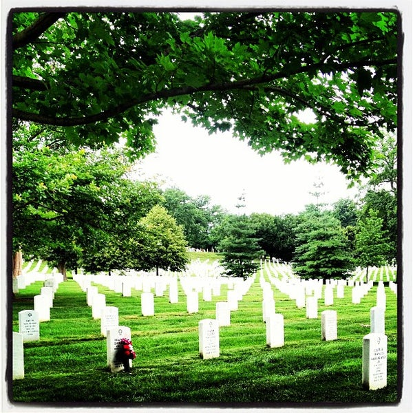 Photo taken at Arlington National Cemetery by Jamilia W. on 7/2/2013
