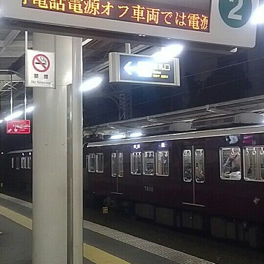 Photo taken at 阪急 南茨木駅 (Minami-ibaraki Sta.) (HK-68) by Motohiro N. on 3/22/2013