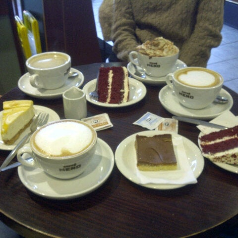 Photo taken at Caffè Nero by Karlis C. on 3/27/2014