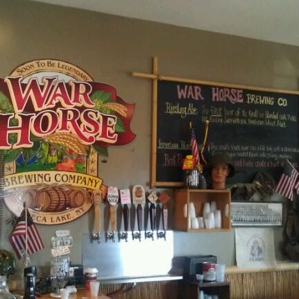 Photo taken at War Horse Brewery by Greg H. on 8/20/2011