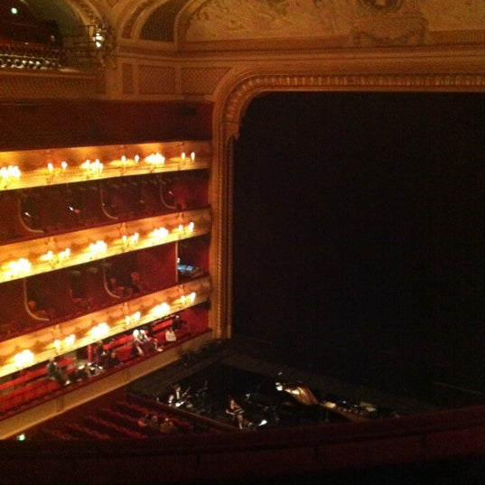 Photo taken at Royal Opera House by Marianne M. on 3/12/2012