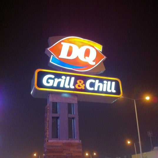 Photo taken at Dairy Queen | ديري كوين by Habeeb A. on 3/20/2012