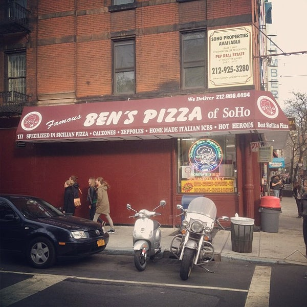 ben 39 s pizza soho 86 tips from 3207 visitors