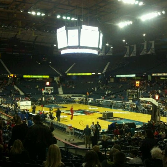 Photo taken at Allstate Arena by Rick L. on 12/30/2011