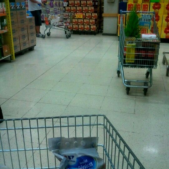 Photo taken at Carrefour by Rafael D. on 12/19/2011