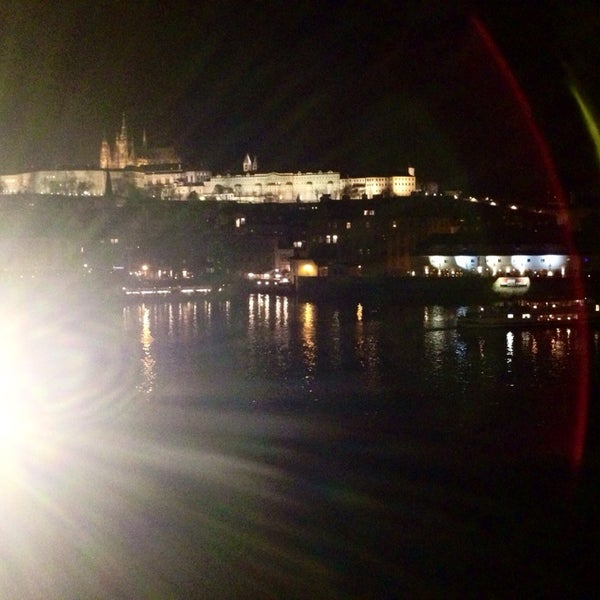 Photo taken at Karlův most | Charles Bridge by Анна Ф. on 3/14/2014