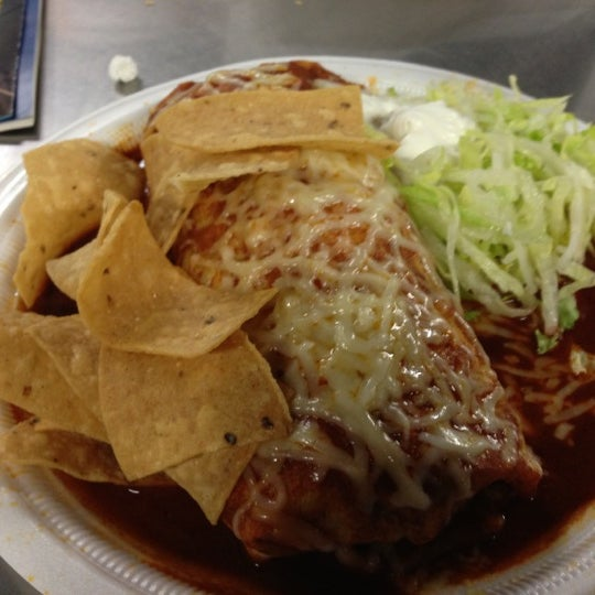 Photo taken at The Original Taco Factory by Joe M. on 10/4/2012