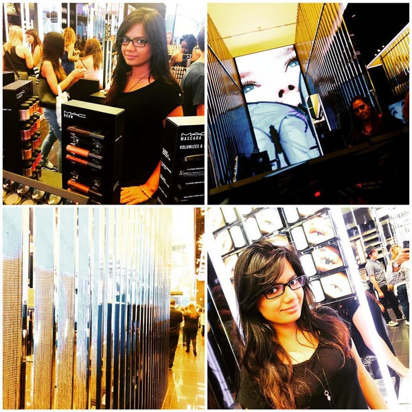 Photo taken at MAC Cosmetics by Sumit 'DulhanExpo' A. on 7/19/2015