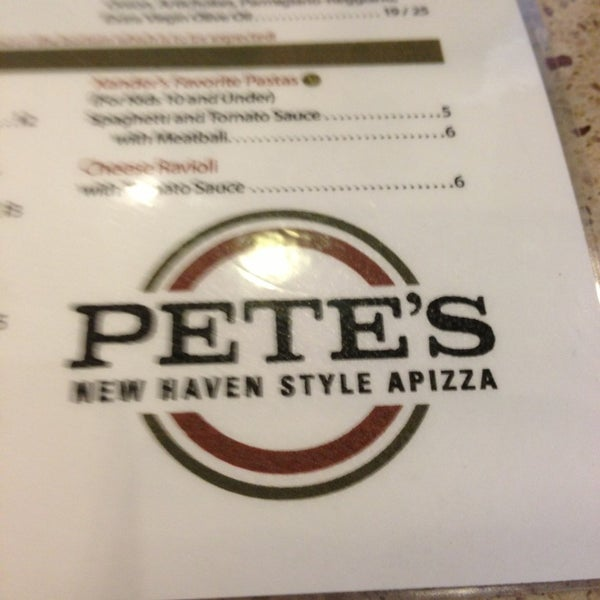 Photo taken at Pete's New Haven Style Apizza by Brandi S. on 3/15/2013