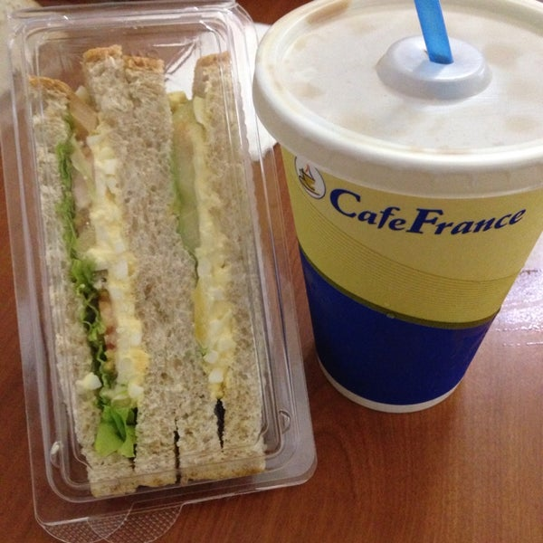 Photo taken at Café France by Mike M. on 8/30/2014