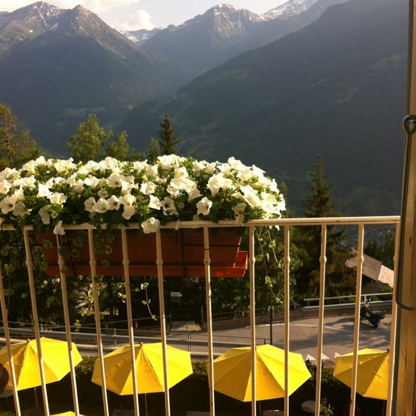 Photo taken at Hôtel Bella-Tola by Amelie B. on 7/15/2013