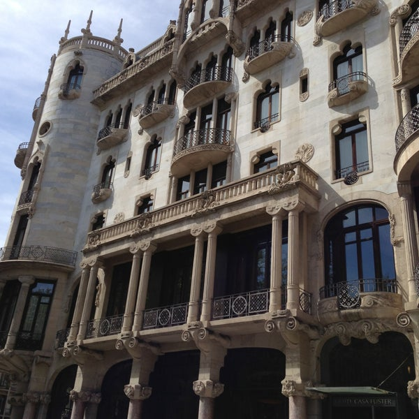 Photo taken at Hotel Casa Fuster by Jah G. on 4/11/2013
