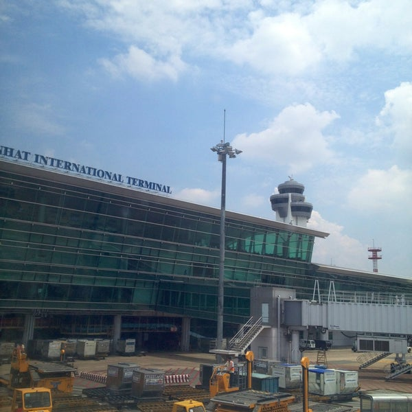 Photo taken at Tan Son Nhat International Airport by Baris Y. on 5/8/2013