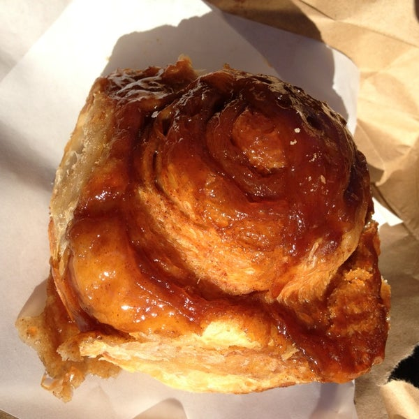 Photo taken at Bovine Bakery by Steve A. on 1/18/2014