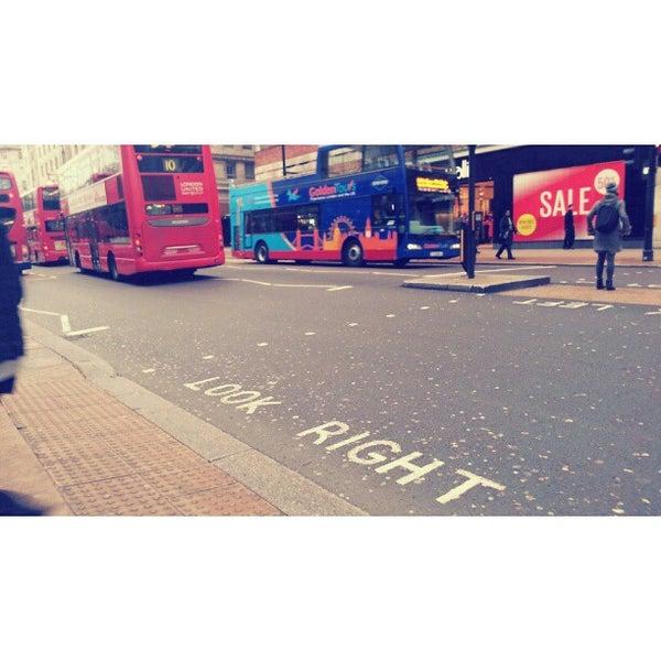 Photo taken at Oxford Street by Ida E. on 1/5/2013