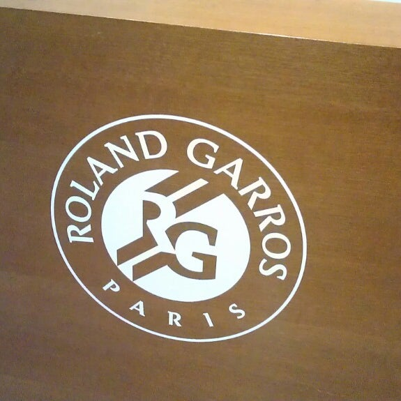 Photo taken at Stade Roland Garros by Mikhail B. on 7/17/2013