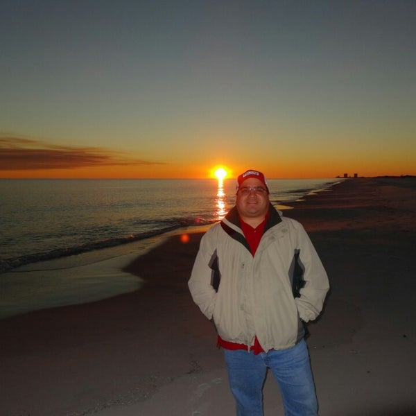Photo taken at Hilton Pensacola Beach Gulf Front by Sam O. on 12/17/2013