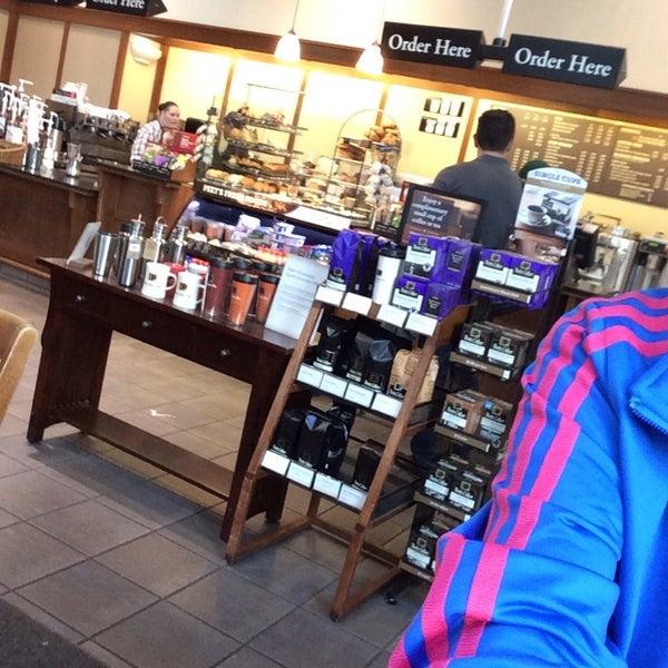 Photo taken at Peet's Coffee & Tea by DANYAH on 4/16/2014