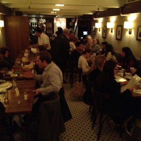 Photo taken at La Bonne Soupe by Beth R. on 11/16/2012