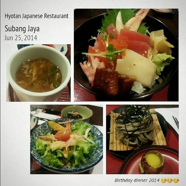 Photo taken at Hyotan Japanese Restaurant by June T. on 6/25/2014