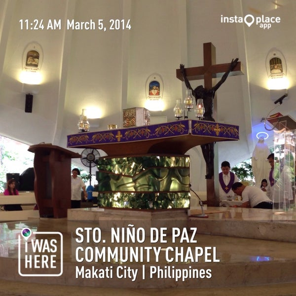 Photo taken at Sto. Niño de Paz Community Chapel by Jayson D. on 3/5/2014