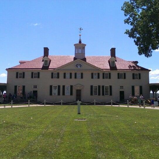 Photo taken at George Washington's Mount Vernon Estate, Museum & Gardens by Steve P. on 6/14/2013