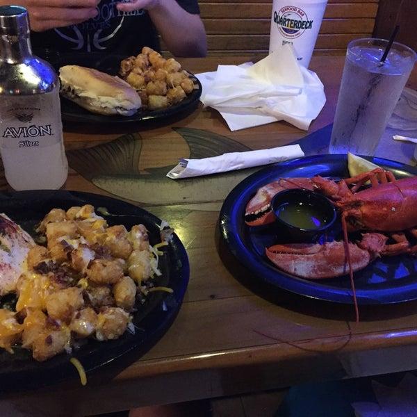 Photo taken at Quarterdeck Restaurant by Doug M. on 6/29/2016