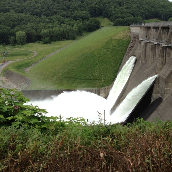 Photo taken at Kinzua Dam by Tuan T. on 6/15/2013