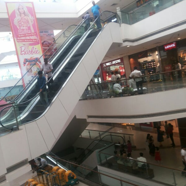 Photo taken at Kumar Pacific Mall by Aniket A. on 5/9/2013
