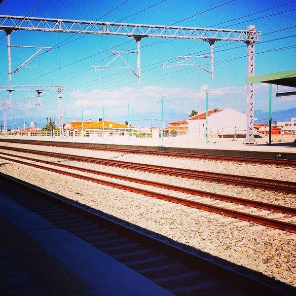 Photo taken at Σταθμός Προαστιακού Κιάτο (Kiato Suburban Rail Station) by Athena 🎀 L. on 10/18/2014