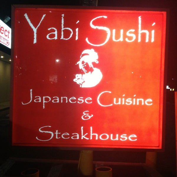 Photo taken at Yabi Sushi by Dani S. on 5/9/2013