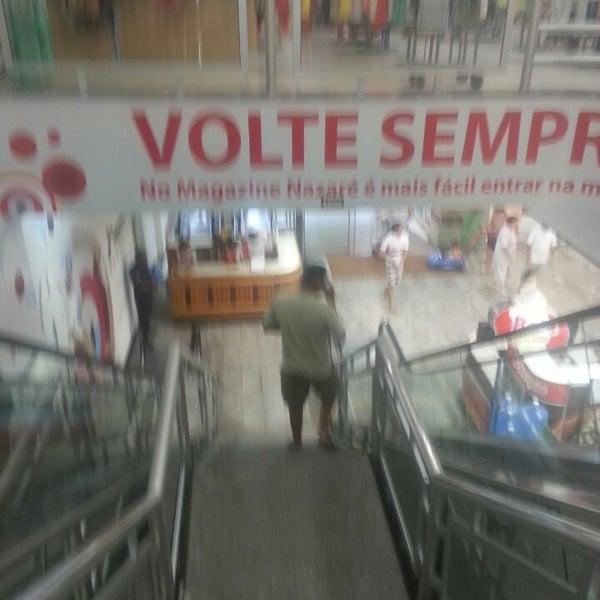 Photo taken at Supermercados Nazaré by Cledson Nahum L. on 4/17/2013