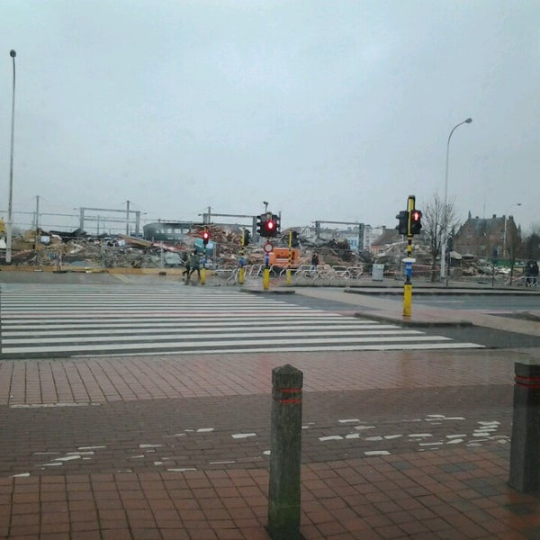 Photo taken at Station Blankenberge by dirk s. on 12/4/2013